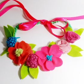 coroa de flor rosa2